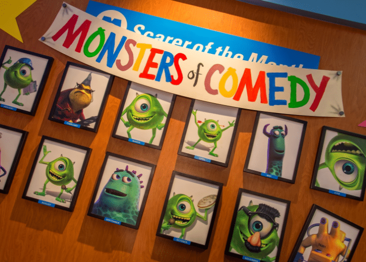 So Funny It's Scary: The Monsters Inc. Laugh Floor